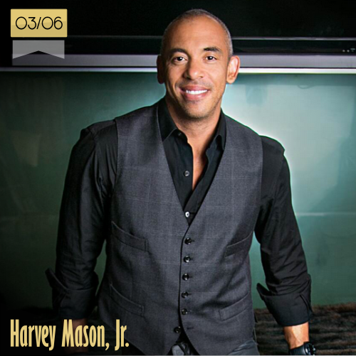 3 de junio | Harvey Mason, Jr. - @HarveyMasonjr | Info + vídeos