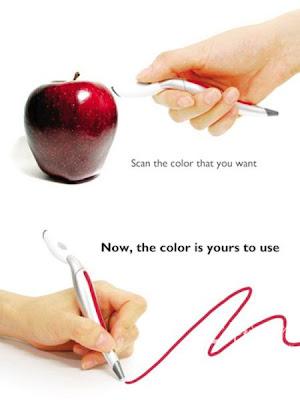 Escanear el color de un lápiz