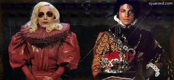 Os reis do POP Lady Gaga e Michael Jackson música monster 2013
