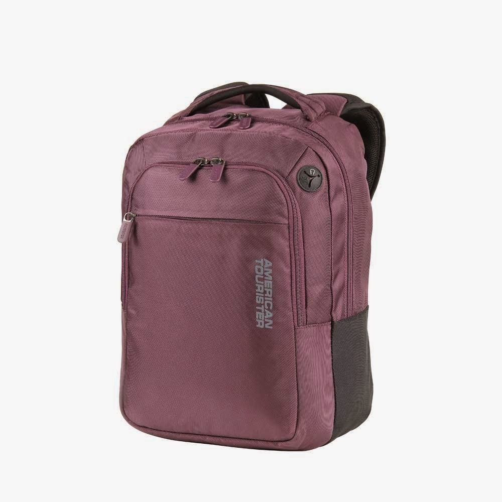 Buy American Tourister Citipro 8 Fabric Laptop Bag (Purple) Rs. 1099 only at Amazon.