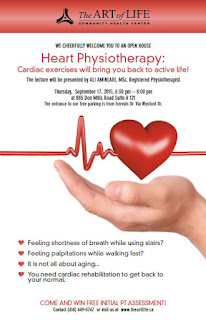 Heart Physiotherapy: Cardiac exercises: TAOL Open House