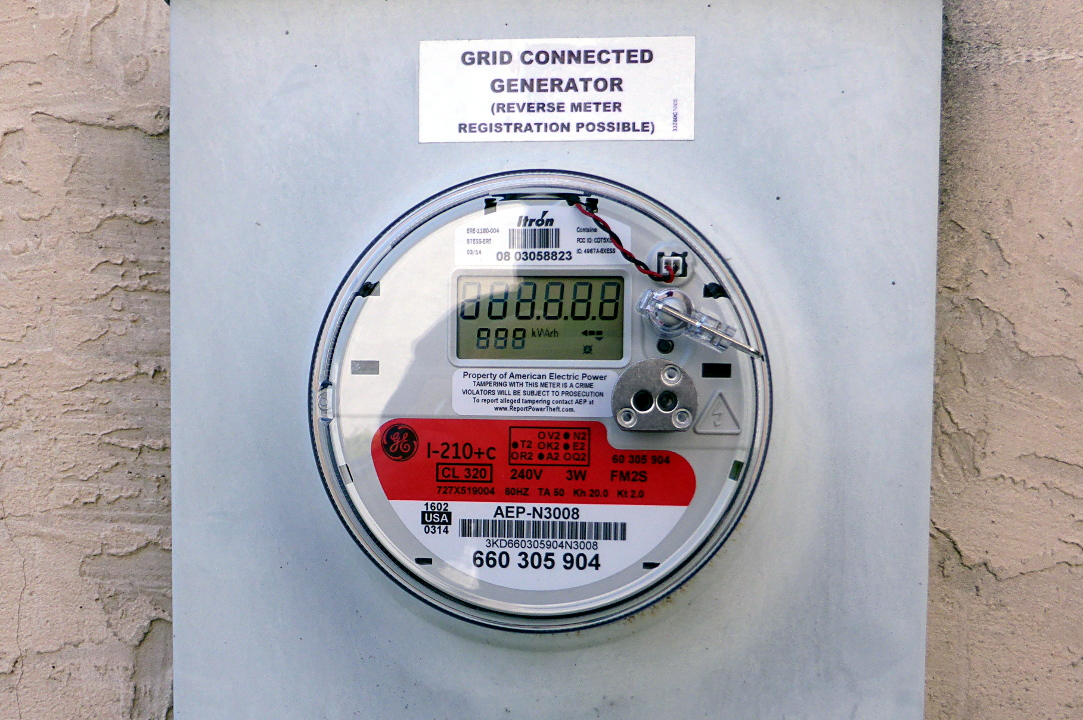 Smart Meter Vs Analog Meter : Another side of this life adding solar part installation