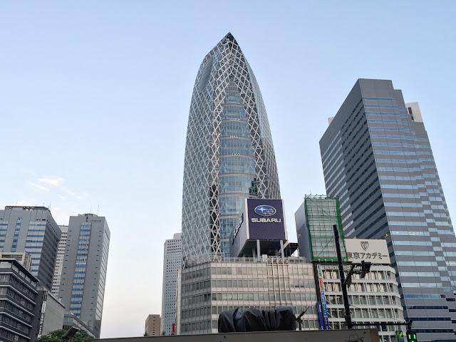 高層ビル街,西新宿〈著作権フリー無料画像〉Free Stock Photos