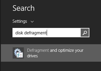 Lakukan Disk Defragmentasi