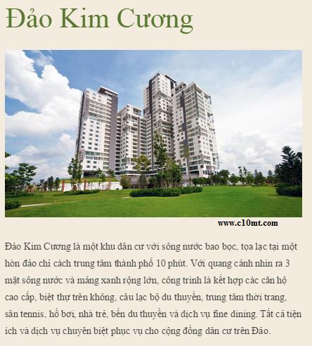 Dao Kim Cuong Diamond Island Quan 2