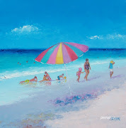To buy or view other beach paintings in my Ruby Lane Shop please click here (beach painting by jan matson on ruby lane )