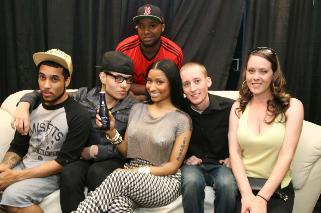 Damzel in distress nicki minaj headlines summer jam and parties the contest which was hosted by myx fusions moscato and hot 97 gave nicki minaj fans a chance to enter and win a special meet and greet with her at summer m4hsunfo Images