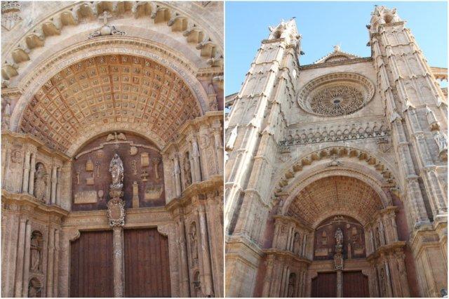 Entrada de la Catedral de Palma de Mallorca, La Seu