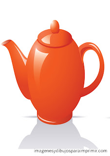 teapot for printing