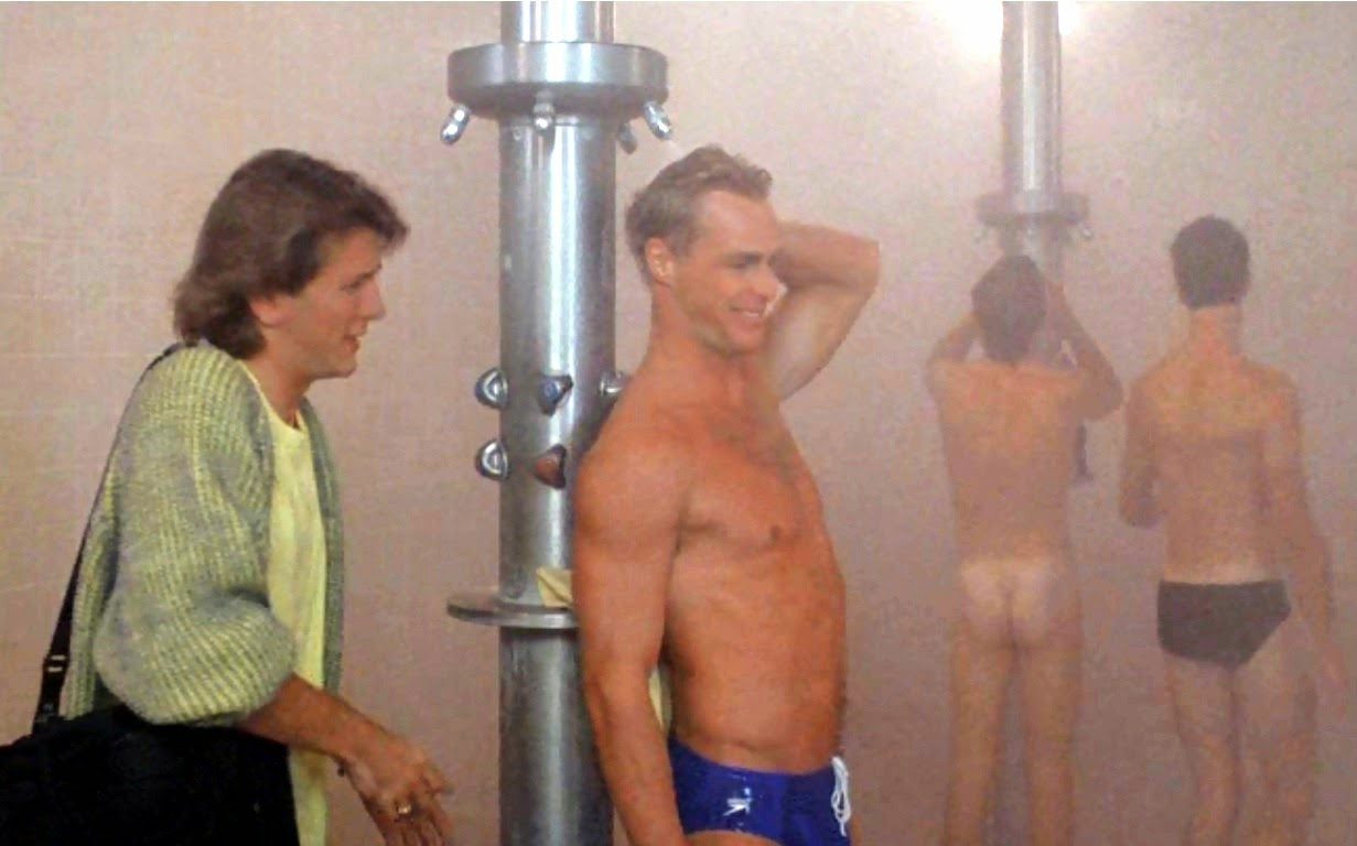 during their discussion about it in thepool s steamy shower room