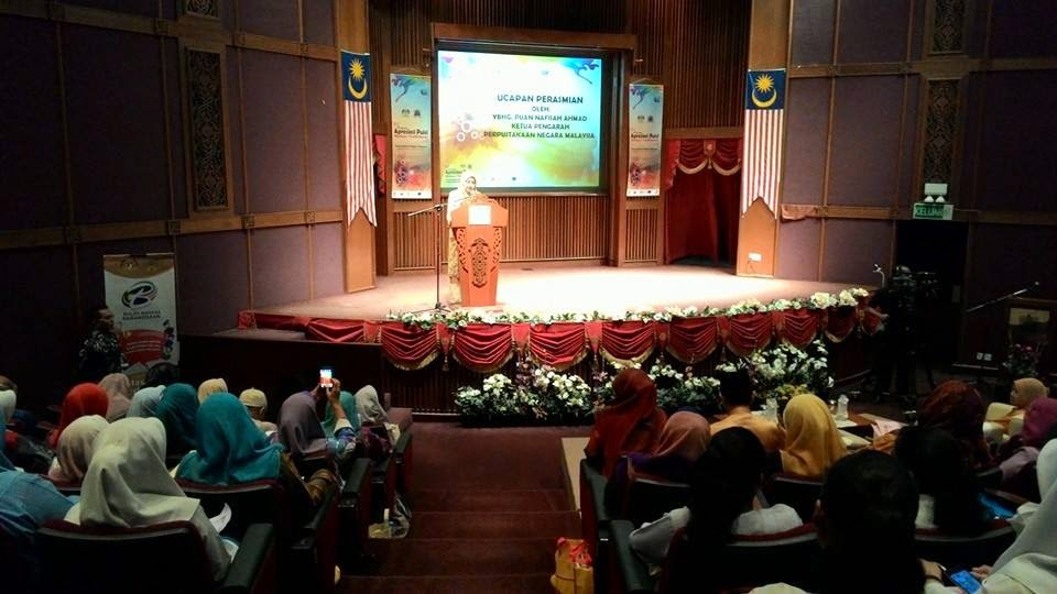 YBhg Nafisah Ahmad, Ketua Pengarah Perpustakaan Negara Malaysia (PNM)