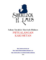 Sherlock Holmes Indonesia download ebook PDF Salam Terakhir Sherlock Holmes His Last Bow Petualangan Kaki Setan The Adventure od Devil's Foot bahasa Indonesia gratis