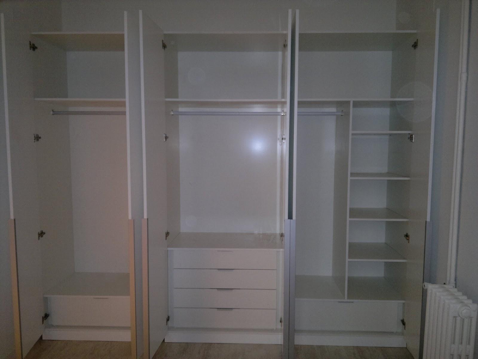 Ebanisteria carpinteria manuel perez zaragoza for Interiores de armarios