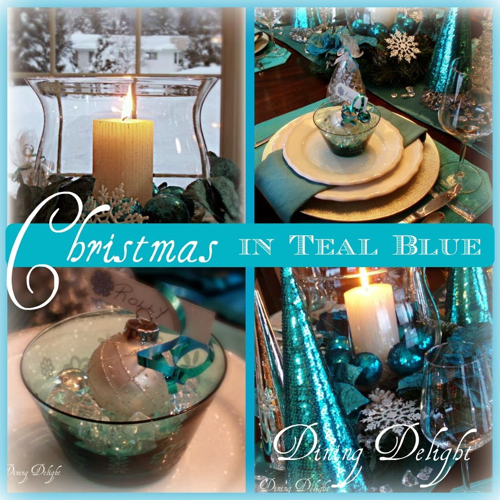 Christmas in Teal