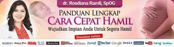 Panduan Program Cepat Hamil Dr Rosdiana Ramli SpoG