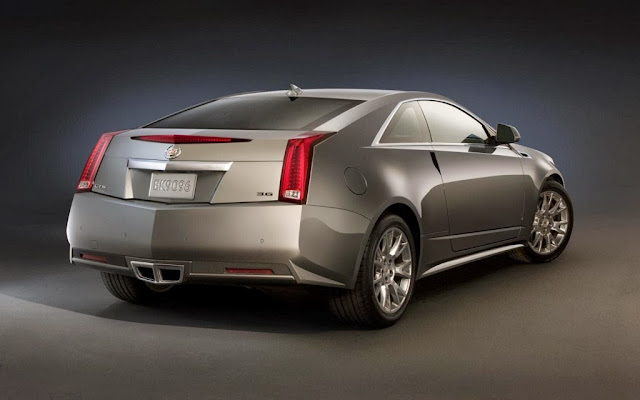 2014 Cadillac CTS Coupe Pictures