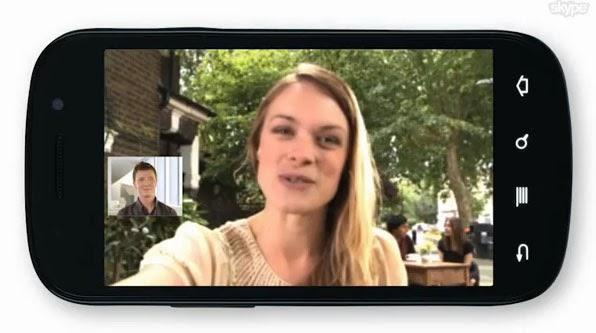 Las videollamadas con skype en el móvil