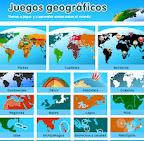 Juegos de geografía.