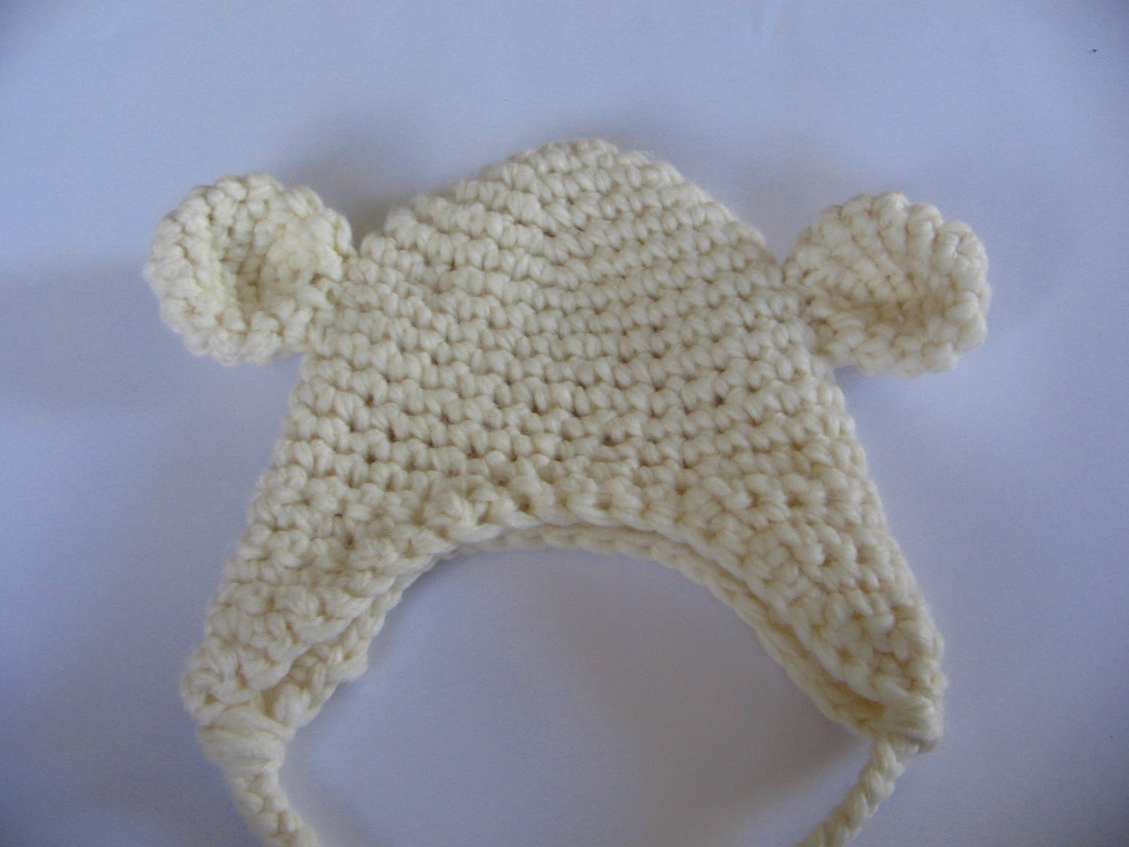 Crochet Baby Teddy Bear Hat Pattern : how to crohet bear hat free pattern