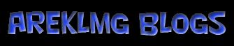 areklmg blog's
