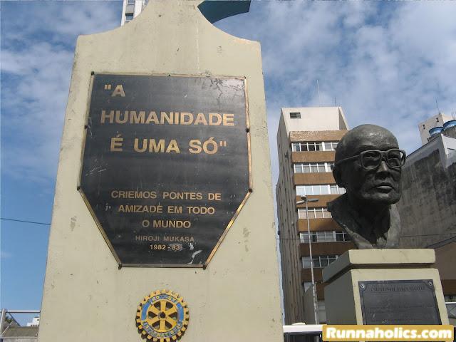 """Hiroji Mukasa - """"A humanidade é uma só""""."""