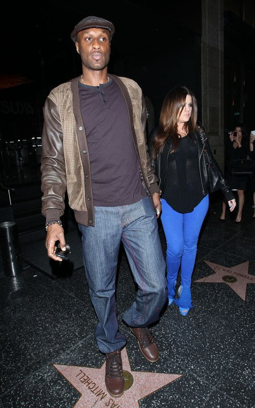 Coupled Up: Khloe And Lamar!