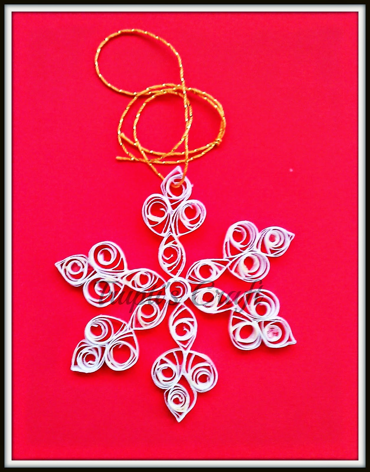 Trupti's Craft: Paper Quilling Christmas Ornaments - photo#20