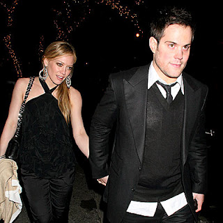 Hilary Duff with Husband