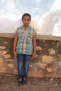 Our sponsored child,  Betlhem