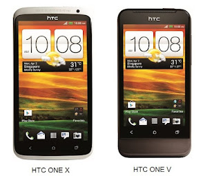 HTC One V and HTC One X