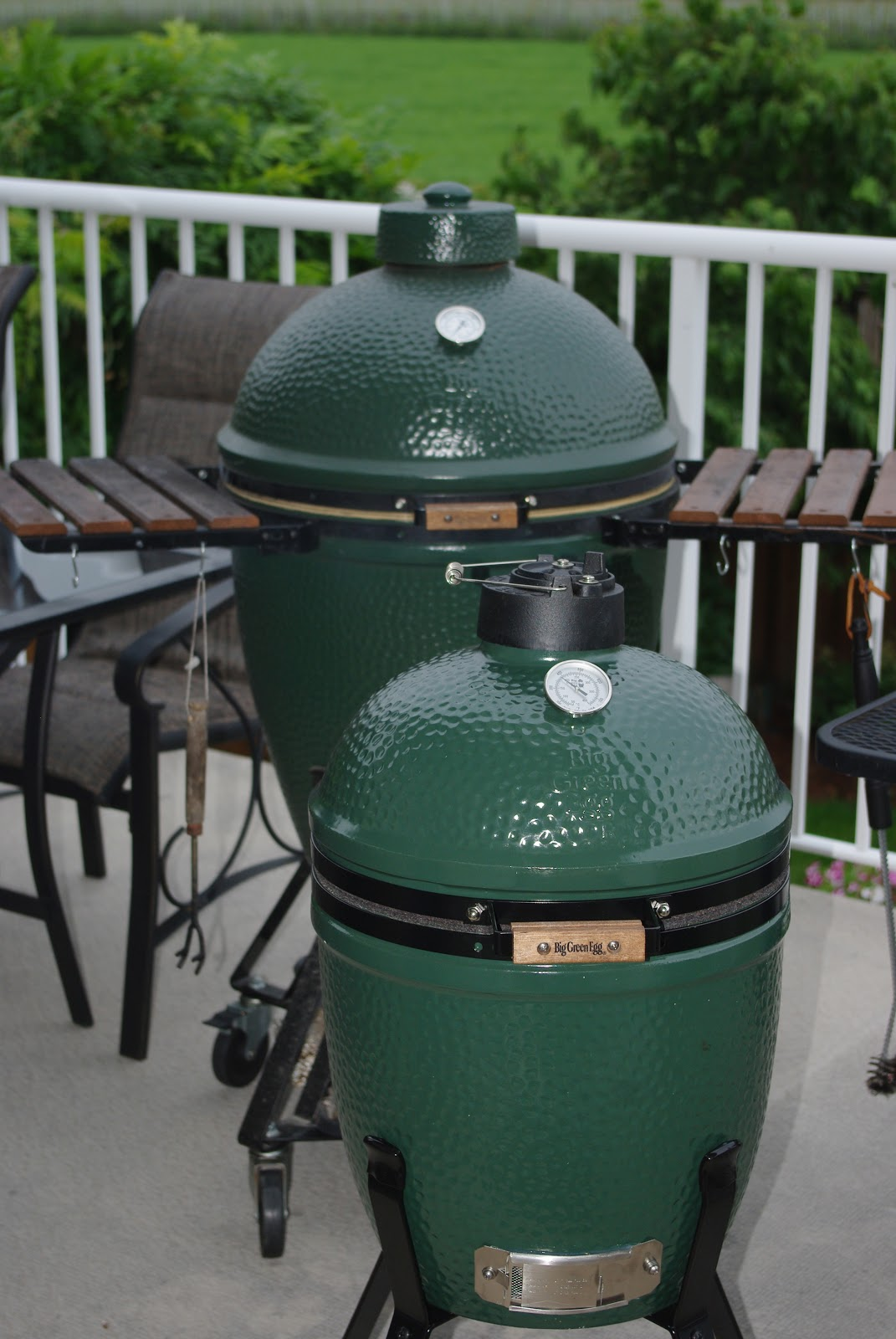 Sundays with the Lechlers: The Big Green Egg ~ #5F773E
