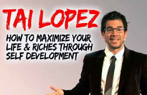 El secreto del exito de Tai Lopez