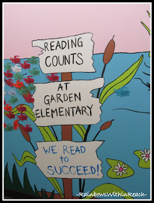 photo of: Mural for Elementary School  Readers