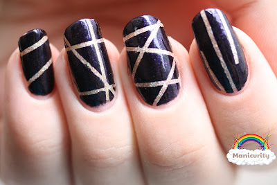 Manicurity: BFF Challenge - Striping Tape!