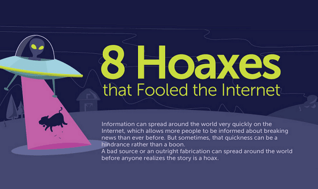 8 Hoaxes that Fooled the Internet