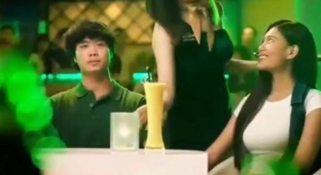 Video clip Công Phượng quảng cáo bia