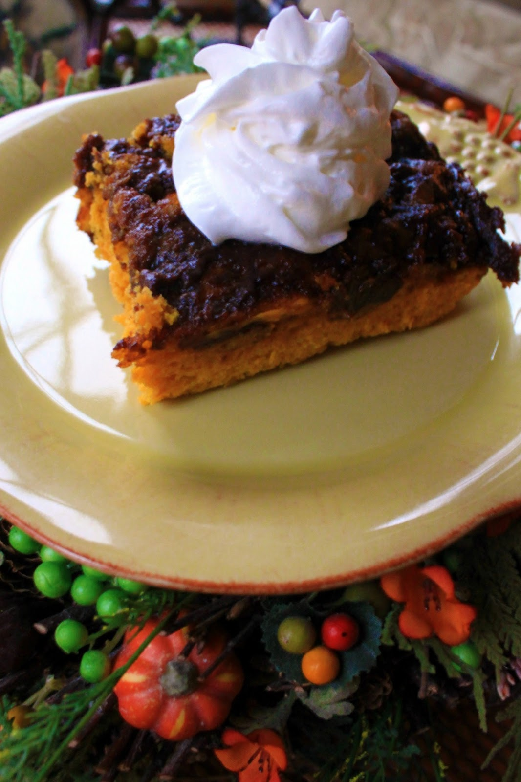 Two Ingredient Chocolate Pumpkin Cake
