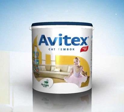 Warna-Warna Cerah Cat Tembok Avitex Untuk Rumah kita