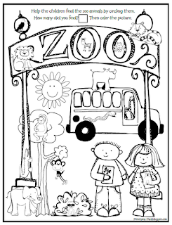 Zoo Animals Coloring Pages !  Raising Our Kids