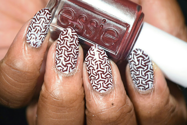 Chocolate Kisses & White - Stamping Saturdays #9