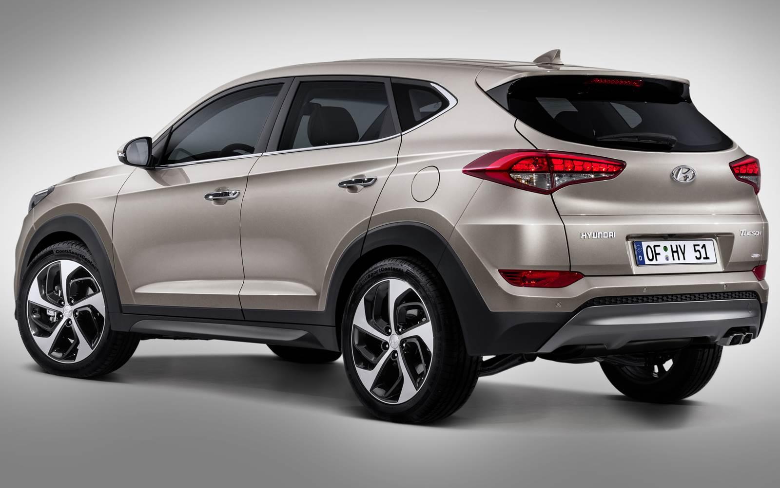 Novo Hyundai Tucson 2016 - traseira