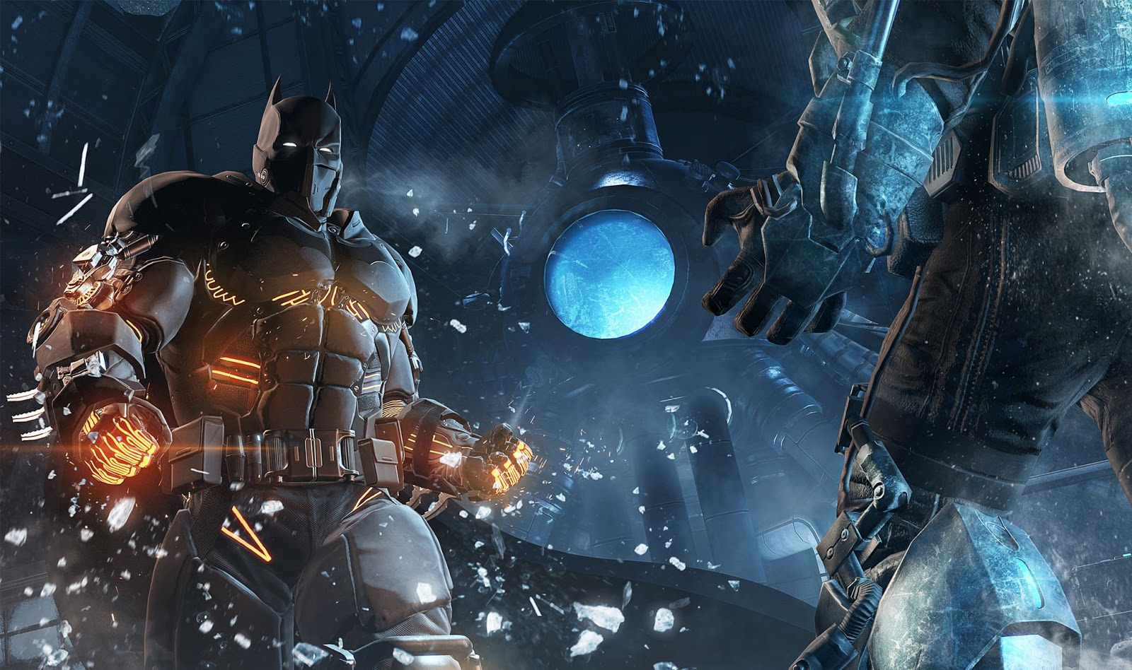 Batman Arkham Origins Cold Cold Heart DLC screenshot
