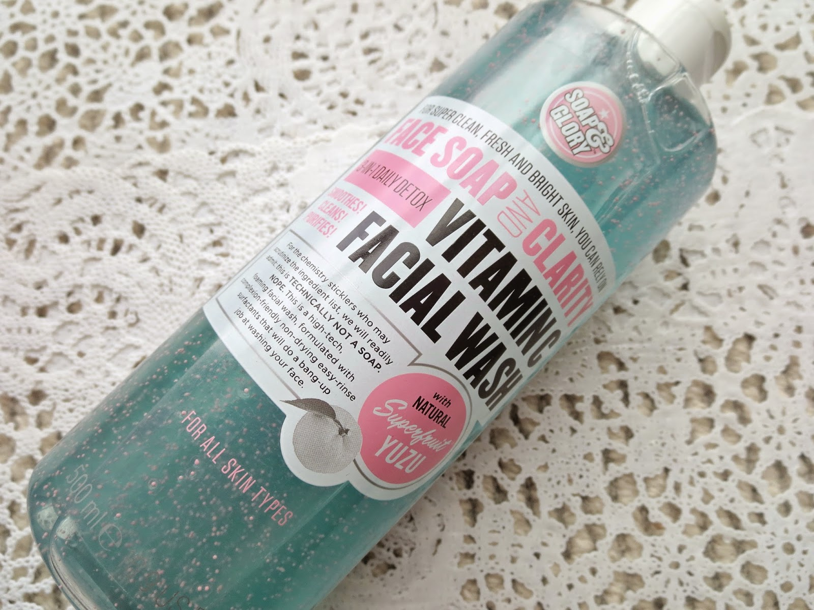 a picture of Soap&Glory Face Soap and Clarity Vitamin C Facial Wash