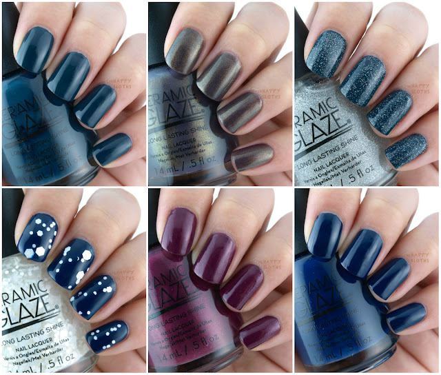 Ceramic Glaze Fall/Holiday 2015 Collection: Review and Swatches