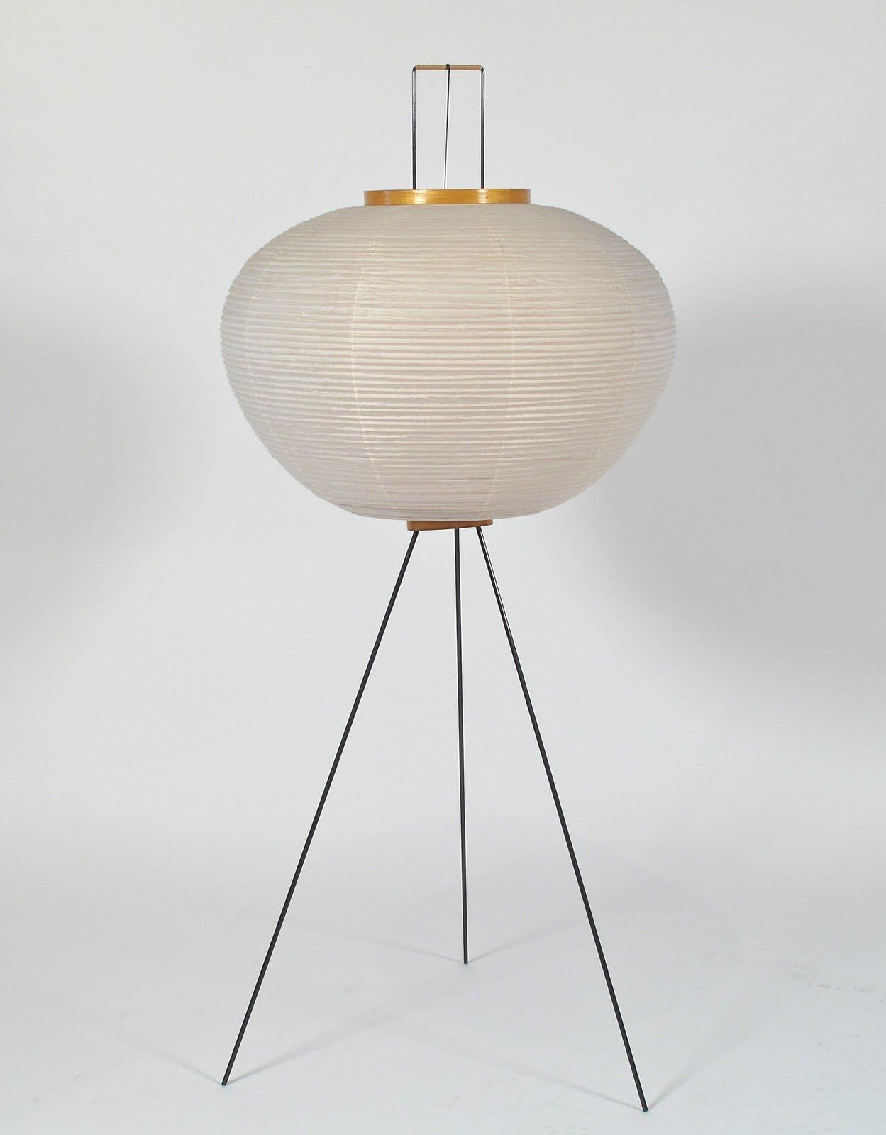 just in modern isamu noguchi tripod floor lamp 1960 39 s