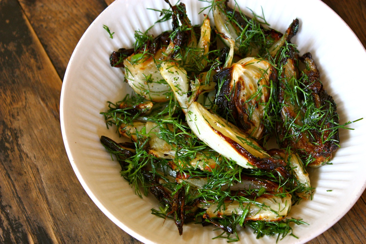 My Own Private Kitchen: Caramelized Fennel