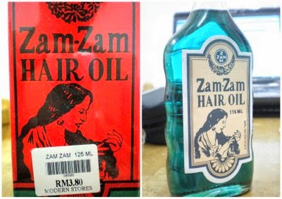 Zamzam Oil, minyak zamzam, review zamzam oil, zamzam hair oil