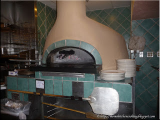 wood oven and grill at Carrabba's Italian Grill