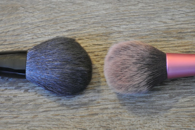 Sakura Powder Brush & Real Techniques Blush Brush