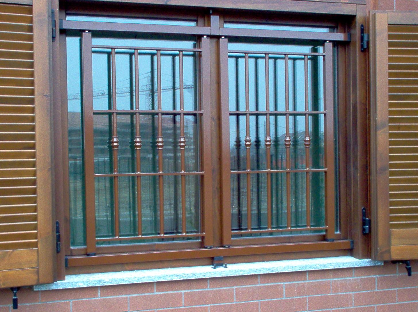 Grate in acciaio zincato blokka - Grate per finestre a scomparsa ...